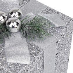 3 regalos decoración para exteriorde Navidad con luz