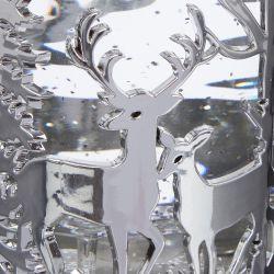 cilindro luminoso Stag plata