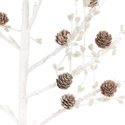 árbol con luz decorado para Navidad minimalista