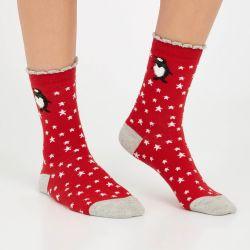 Set de 3 calcetines navideños de animales