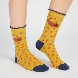 Set de 3 calcetines de animales del bosque
