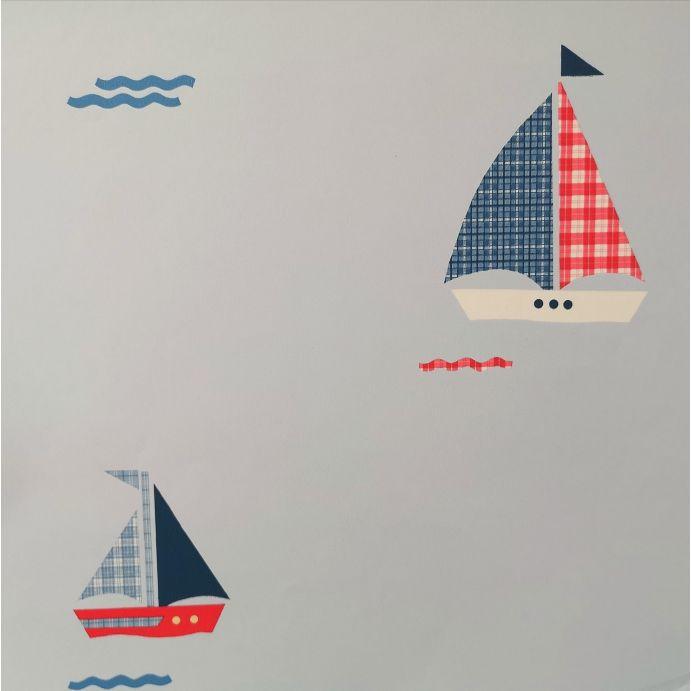 papel pintado Nautical infantil