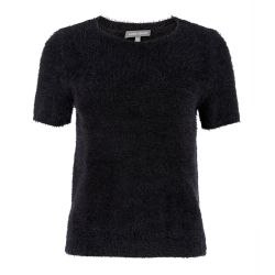 Jersey negro de manga corta