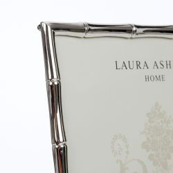 marco de fotos plata diseño bambú