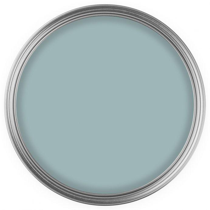 pintura de máxima calidad y cubrición en un intenso tono azul verdoso ideal para cualquier estancia de diseño