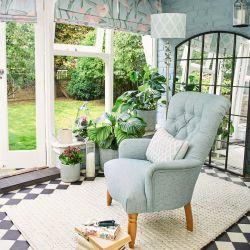 pintura de máxima calidad y cubrición en un relajante y precioso azul verdoso
