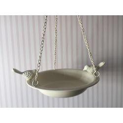 baño colgante para pájaros decoración para jardín