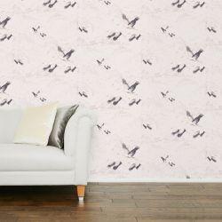 papel pintado Animalia plata PTW