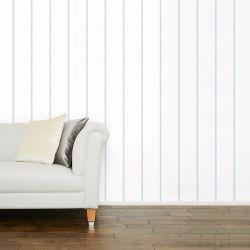 papel pintado Saltram Stripe azul mar pálido PTW