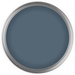 pintura azul azulón