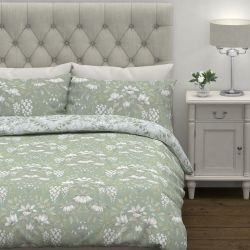 conjunto de cama Parterre verde salvia