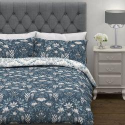 conjunto de cama Parterre azul mar