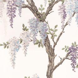 mural Wisteria Garden iris pálido PTW