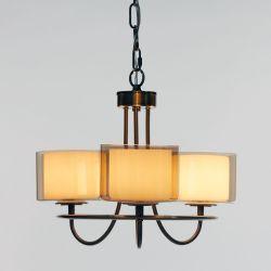 lámpara Southwell 3 brazos - bronce