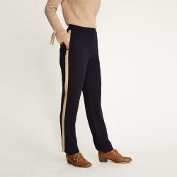 Pantalones con rayas laterales