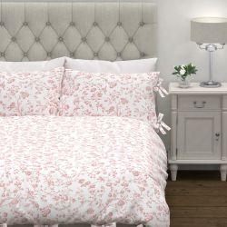 set de cama Aria rosa maquillaje