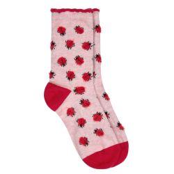 Calcetines Fluffy Ladybird