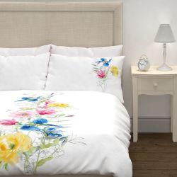 conjunto de cama Corinne blanco multi