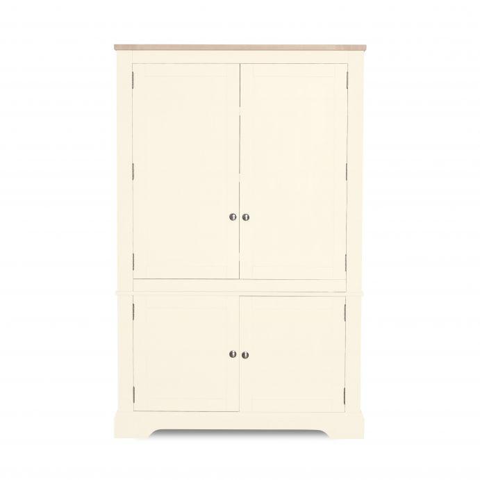 armario de trabajo Dorset blanco