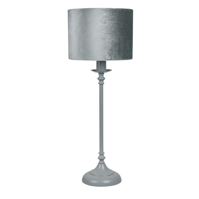 lámpara completa Jesy gris carbón