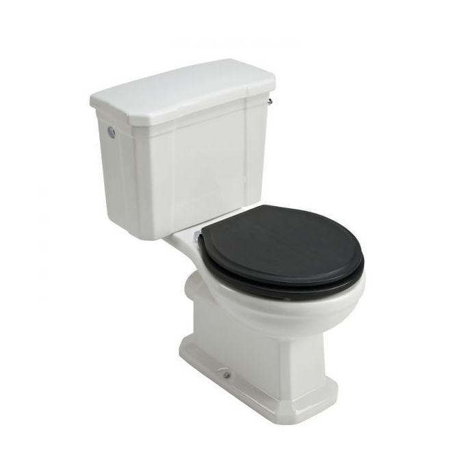set WC integrado Bloomsbury negro