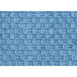 tejido de chenilla hopsack azul espuela de caballe