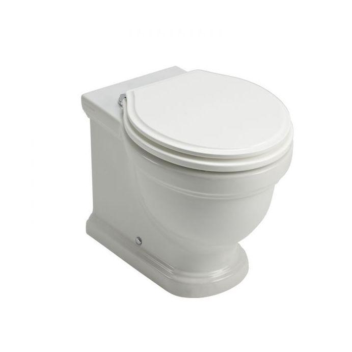 WC a pared Pavilion blanco