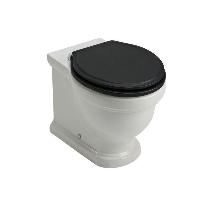 WC a pared Pavilion negro