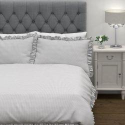 set de cama Abigail gris plata