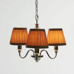 Lámpara techo 3 luces Ellis Chandelier