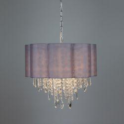 lámpara de techo Scalloped