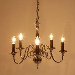 Lámpara techo 5 luces Wincherter