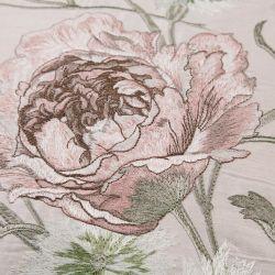 cojín Aurelie bordado rosa maquillaje