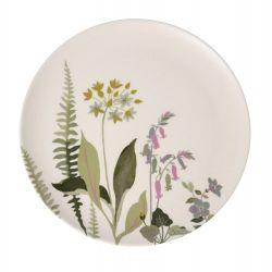"4 platos de bambú ""botanical floral"""