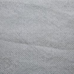 Manta Payton gris plata