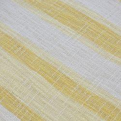 Manta de rayas Oakley amarilla