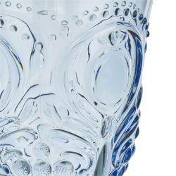 copa acrílica azul prensado