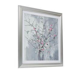lámina enmarcada Blossom vase 64x64