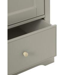 armario Oakham gris francés