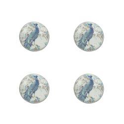 4 tiradores para cajón Belvedere azul noche
