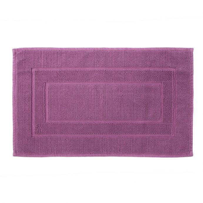 alfombrilla baño cenefa rosado