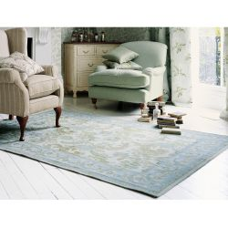 alfombra Baroque azul verdoso