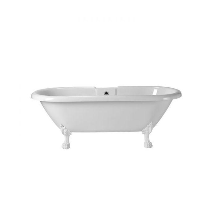 bañera Fairfield 1550mm patas blancas
