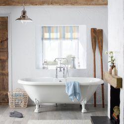 bañera Fairfield 1760mm patas blancas