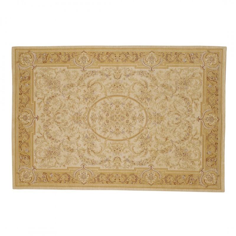 comprar alfombra victoriana oro y marfil de dise o laura