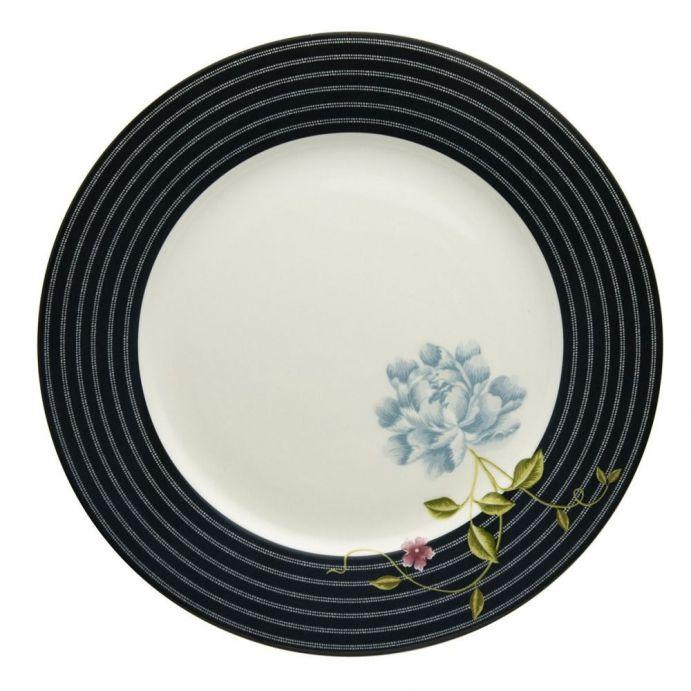 plato llano Heritage Candy azul noche 30 cm