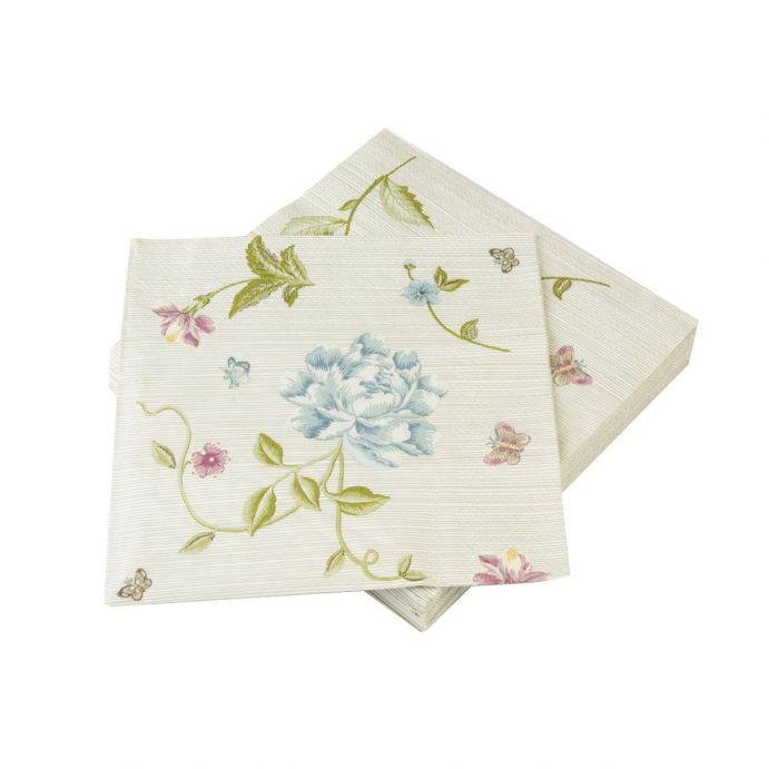 servilletas de papel piedra rayas