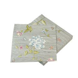 servilletas de papel azul noche rayas