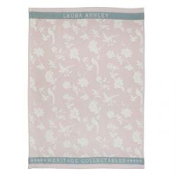 paño de cocina rosa flower 50x70