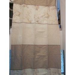 cortinas confeccionadas en seda lupine natural